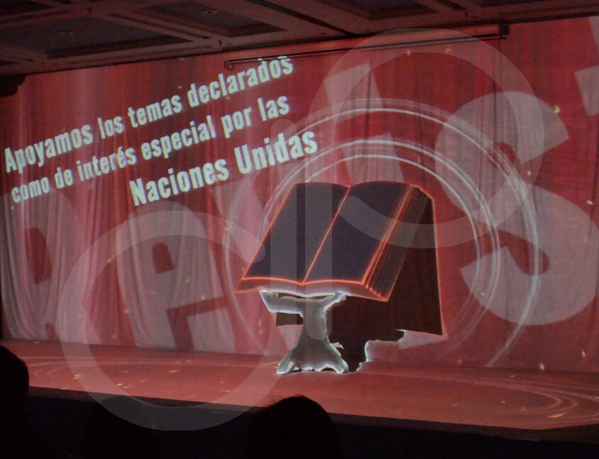 Video Mapping 3D Instituto Sinchi