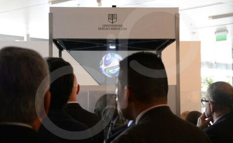HOLOGRAFÍA 360° UNIVERSIDAD SERGIO ARBOLEDA