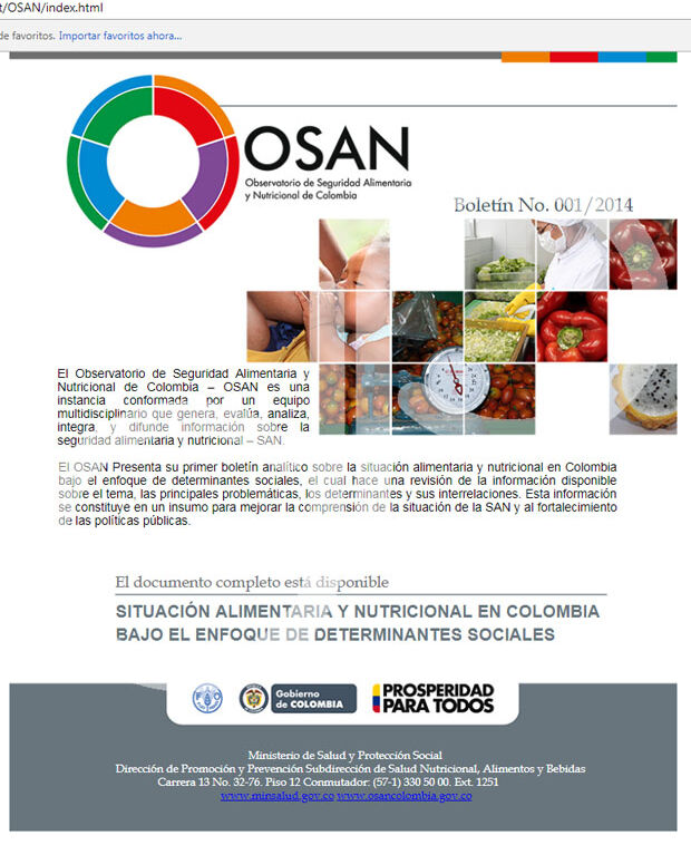 Campaña de e-mailing OSAN-FAO