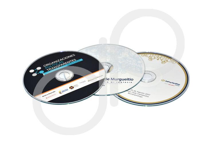 Impresión Caja y label CD O DVD