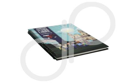 Impresión de libro argollado Minisalud OIM