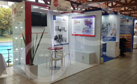 Stand Beckman Coulter Octubre 2017