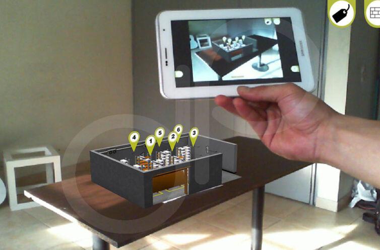 App Realidad Aumentada 3D Universidad EAN