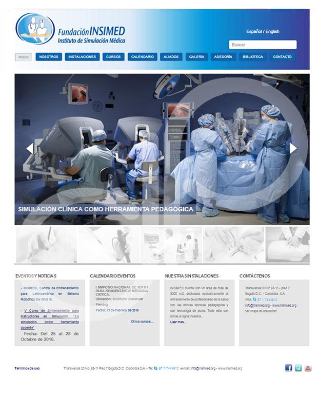 Página WEB INSIMED