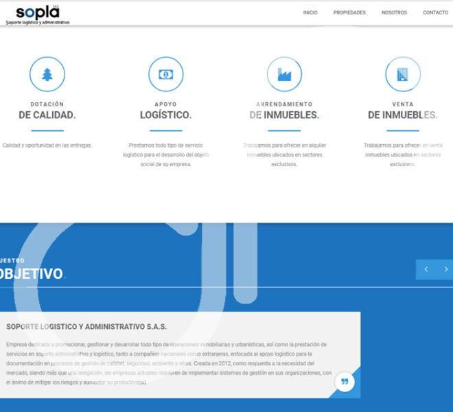 Pagina WEB SOPLA-1