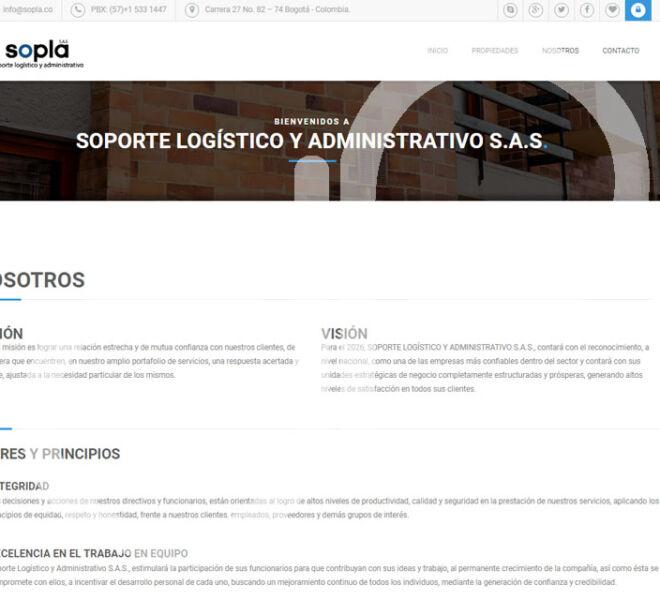 Pagina WEB SOPLA-2