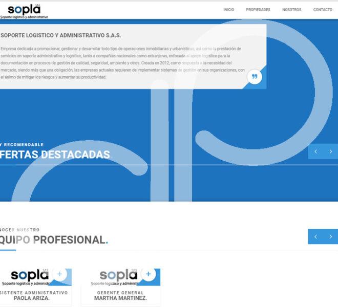 Pagina WEB SOPLA-4