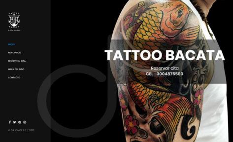 Plataforma WEB Tattoo Bacata