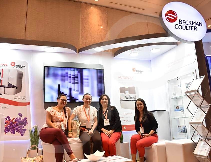 STAND BECKMAN COULTER – MARZO CALI 2019