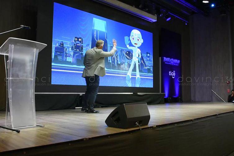 Personaje virtual 3D en tiempo real