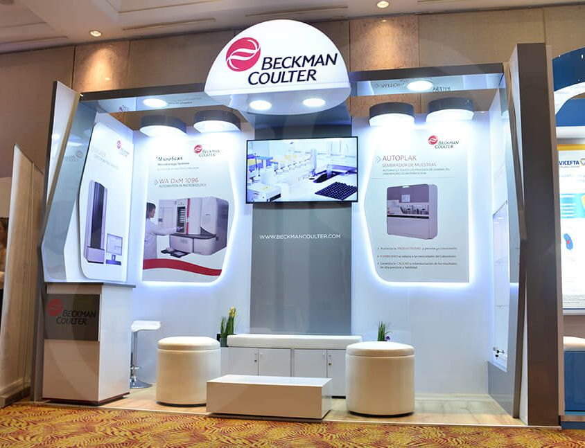 Stand Beckman Coulter Marzo 2020