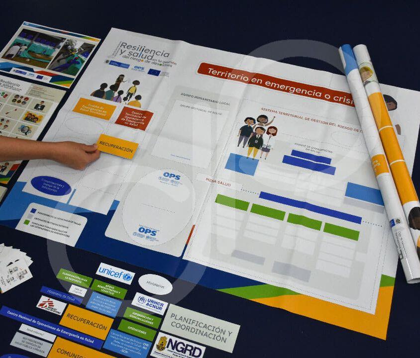 Impresión Kit de herramientas facilitadoras lúdicas OPS